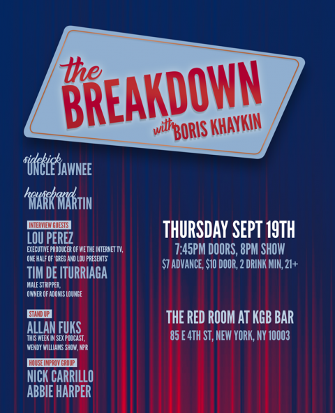 Breakdown with Boris Khaykin