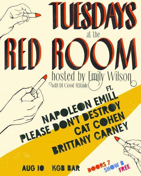 Tuesdays at the Red Room