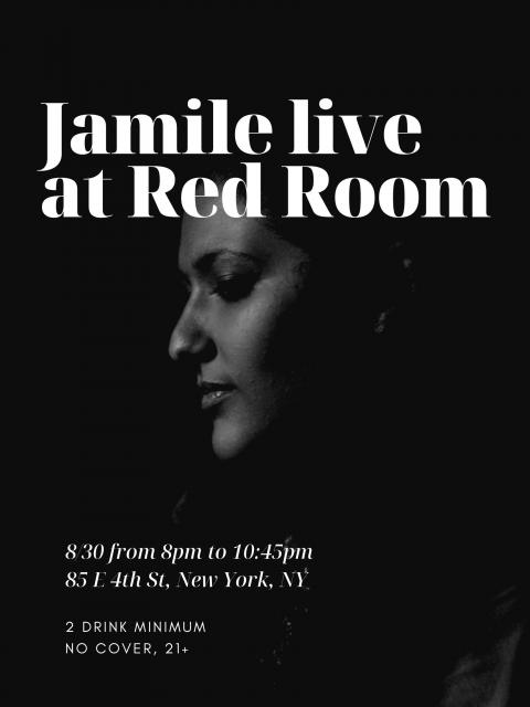 Jamile Live at Red Room