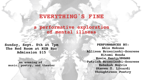 Everything's Fine: A Performative Exploration of Mental Illness