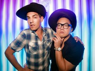 "From left, Matt Rogers and Bowen Yang will host ""Las Culturistas Live: I Don't Think So, Honey!"" 